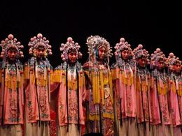 Photo of   At the Beijing Opera