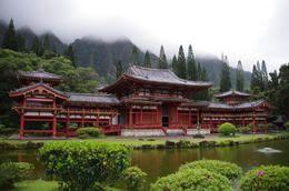 Byodo-In Temple, Valley of the Temples Memorial Park, Kahaluu, O'ahu , inails - May 2014