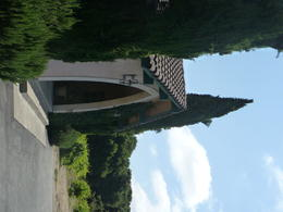 Entrance to Madonna Estate, Trina Tron - July 2011