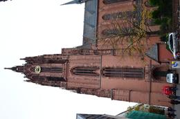 Day-time photo of the dom cathedral in Frankfurt city. , David Lally - December 2014