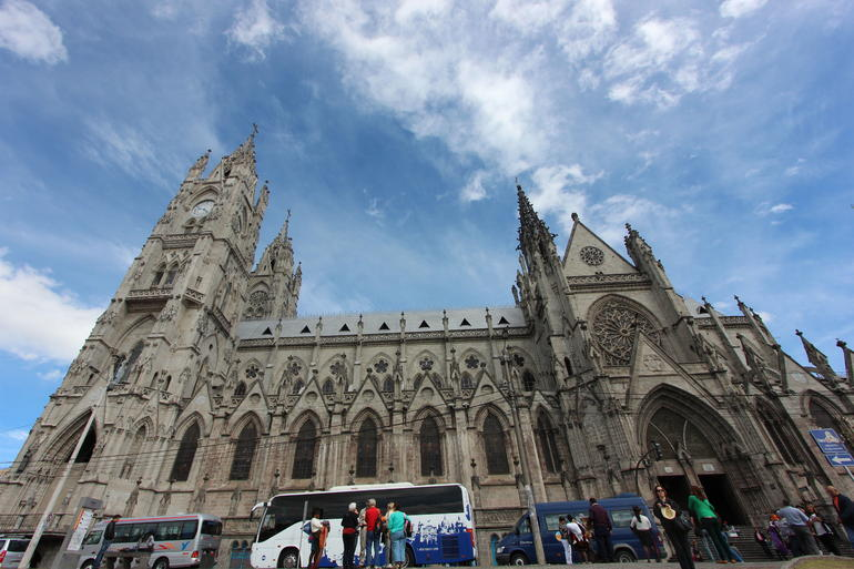 From the outside - Quito