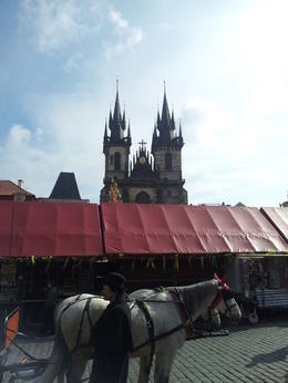 Photo of Prague Small-Group Prague Walking Tour: Malá Strana, Prague Castle and St Vitus Cathedral Getting there!!