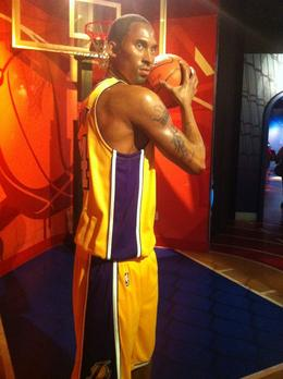 Photo of Los Angeles Madame Tussauds Hollywood Kobe Bryant