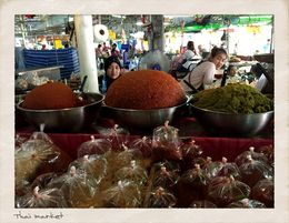 Thai spices in the market. , MICHELLE PRICE P - March 2015
