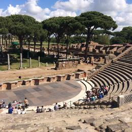 Photo of Rome Ancient Ostia Small Group Day Trip from Rome Ostia Antica theater