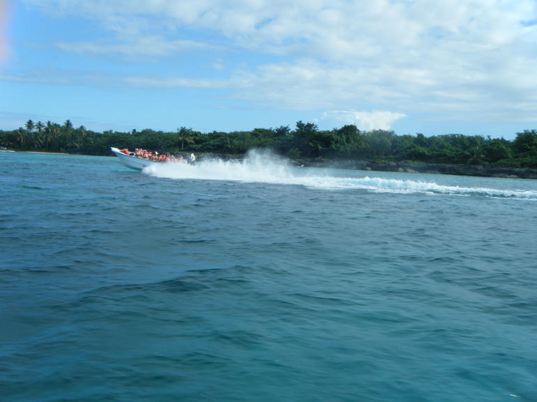 Speed boat ride - Punta Cana