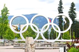 Photo of Vancouver Private Tour: Whistler Day Trip from Vancouver The 2010 Olympic Rings