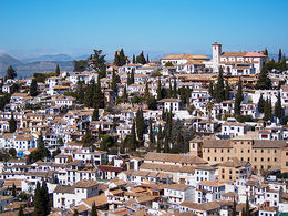 Photo of Granada Skip the Line: Alhambra and Generalife Gardens Half-Day Tour the district of the Albaicin