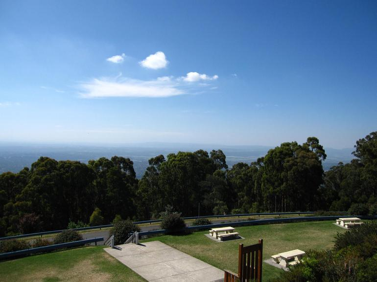 View point from Dandenong Ranges -