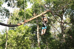 Photo of Cancun Yucatan Adventure: Snorkel, Zipline and Tulum Ruins Tour Zipline Roller Coaster