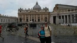Photo of Rome Skip the Line: Vatican Museums, Sistine Chapel and St Peter's Basilica Half-Day Walking Tour En la basílica de San Pedro
