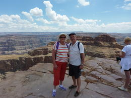 Trevor and Diane at the Grand Canyon , Trevor H - July 2013