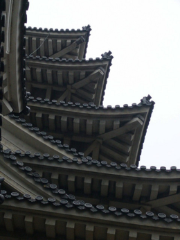 A cool detail of the roof and circular tiles., kellythepea - October 2010