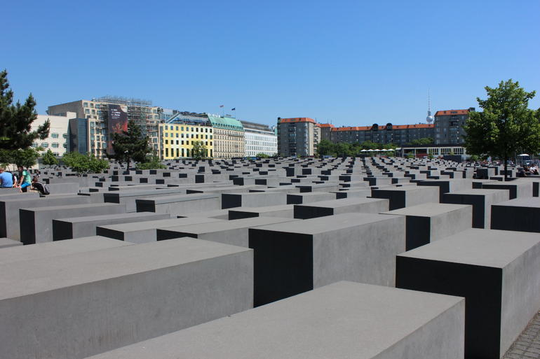 The memorial is very thought provoking and a must see place in Berlin.