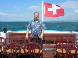 Picture of John on lake cruise. Picture taken by my wife, Sophie., John M - May 2010