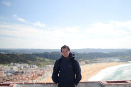 Photo of   me in Nazare