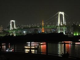 Photo of Tokyo Tokyo Bay Dinner Cruise Night view from Odaiba