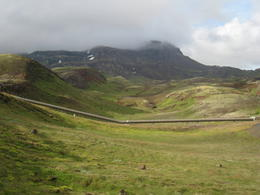 on the Golden Circle drive , Corey - August 2012