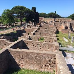 Photo of Rome Ancient Ostia Small Group Day Trip from Rome Ostia Antica ruins