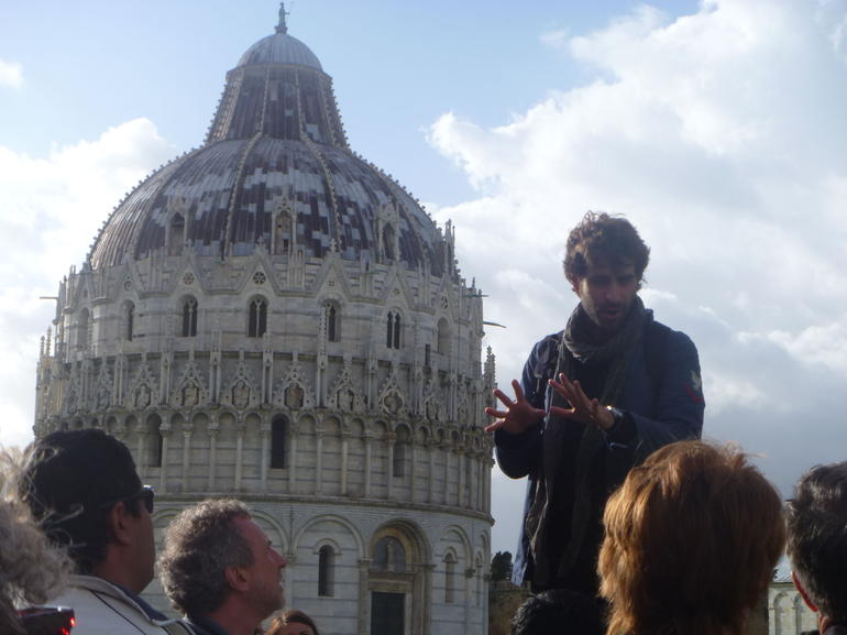 Our awesome guide! - Florence