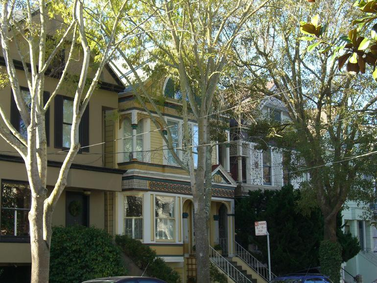 Queen Anne Victorians in Haight-Ashbury, San Francisco - San Francisco
