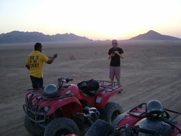 Photo of Sharm el Sheikh Quad Biking in the Egyptian Desert from Sharm el Sheikh Rest time