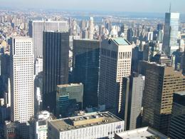 Beautiful panoramic view of NYC. Very special place, I will return while visiting NYC next year . - December 2009