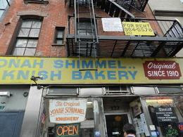part from having the best knish in town! Isaac gave us a little piece of New York's immigrant history with the story behind this fantastic bakery , Schoie - March 2012