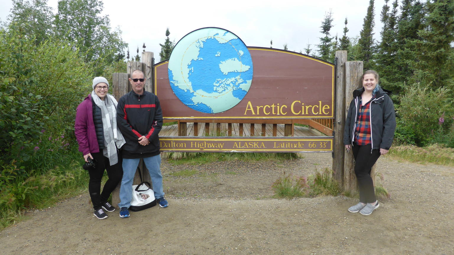 Arctic Circle Day Trip from Fairbanks with Lunch