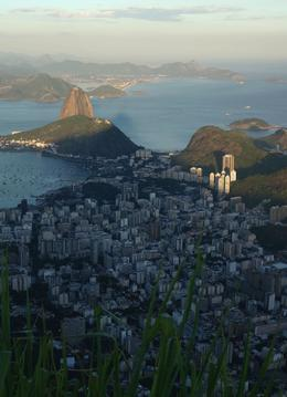 Photo of Rio de Janeiro Corcovado Mountain and Christ Redeemer Statue Half-Day Tour A view of Rio de Janerio from the top of Corcovado Mountain