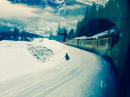 Photo of Zurich Jungfraujoch: Top of Europe Day Trip from Zurich Approaching Grindelwald