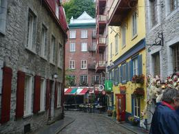 Photo of   City buildings, Old Quebec