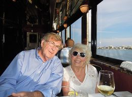 Vonnie and Jerry McCoy enjoying the lovely evening , mccoygerald - June 2015