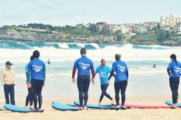 Photo of Sydney Surfing Lessons on Sydney's Bondi Beach DSC_0873e