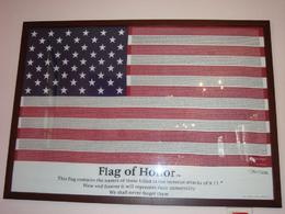Photo of New York City World Trade Center Walking Tour Flag of Honor