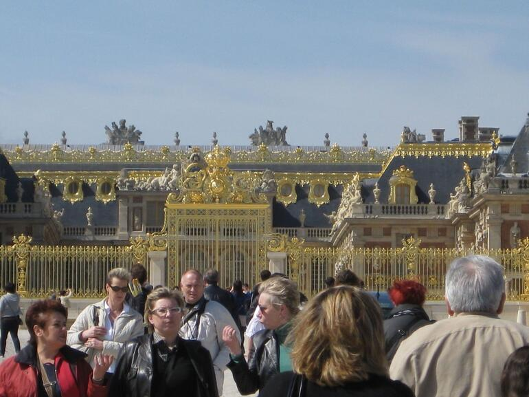 Front of Versailles - Paris