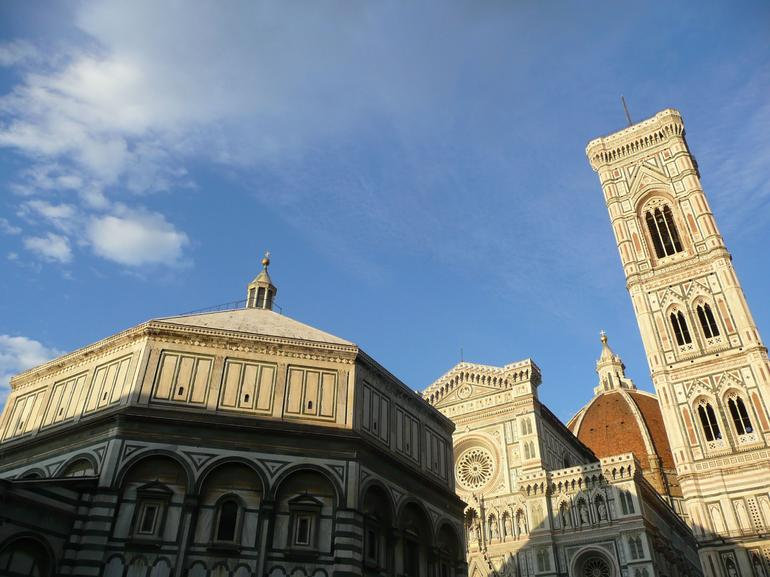 Giotto's Bell Tower and the Florence Baptistry - Florence