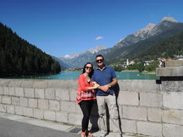 Photo of Venice Dolomite Mountains Small Group Day Trip from Venice Giovanni and the beautiful lady