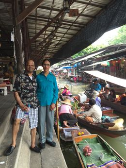 Photo of   In the Floating Market