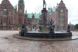 Wonderful fountain graced entry to the amazing Frederiksborg castle. , Jay - July 2013
