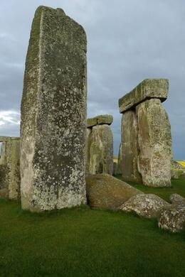 Photo of London Private Viewing of Stonehenge including Bath and Lacock Massive stone slab