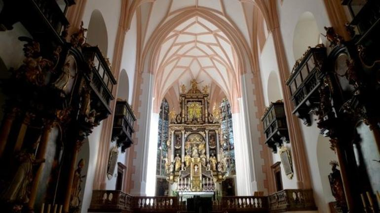 Mondsee church interior - Vienna