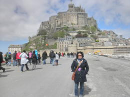 Photo of Paris Mont Saint Michel Day Trip my husband took this picture going to the Mont Saint Michel