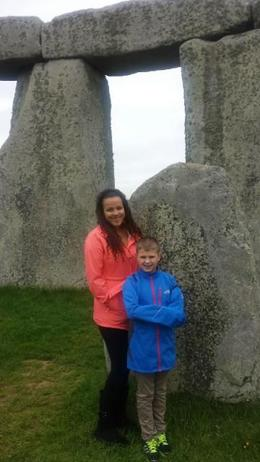 Photo of London Private Viewing of Stonehenge including Bath and Lacock My kids at Stonehenge