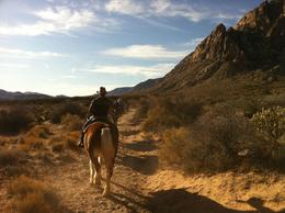Photo of Las Vegas Old Spanish Trail Horseback Ride with Lunch Rui  and  Holly