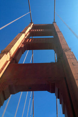 Golden Gate Bridge, Jules & Brock - July 2012