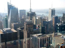 Photo of New York City Top of the Rock Observation Deck, New York Top of  the Rock Observatory Deck  in NYC.
