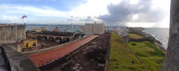 Photo of San Juan Rum Distillery and Old San Juan Half-Day Tour view from the bastille
