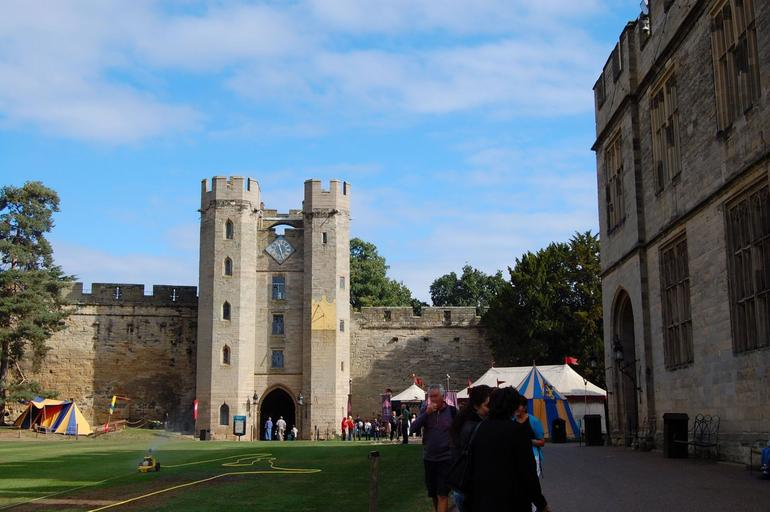 Warwick Castle Courtyard - London