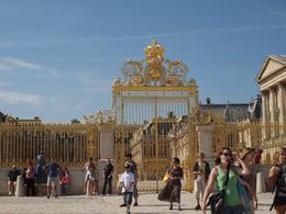 The entrance gates to Versaille, Yvonne M - September 2010